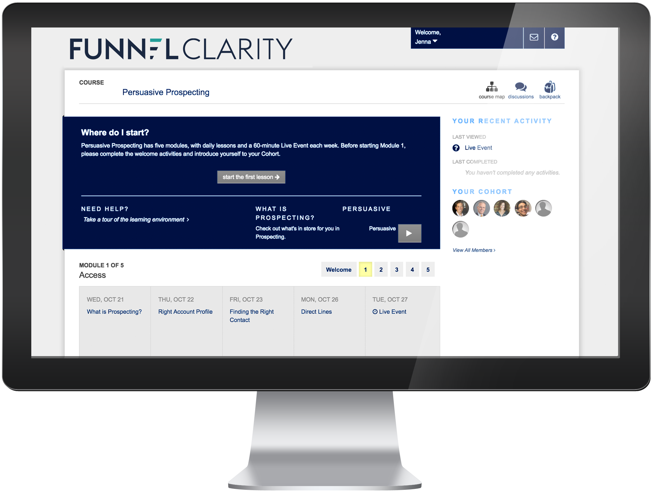 Funnel Clarity Guided Learning Journey