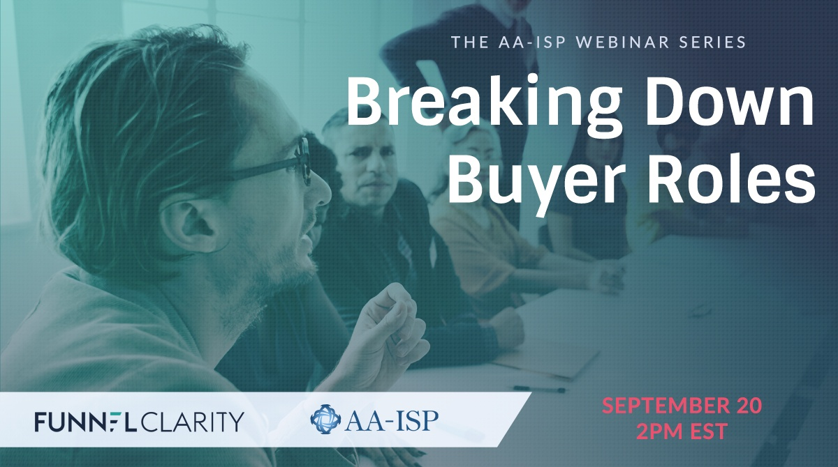 Buyer Roles AA-ISP Webinar