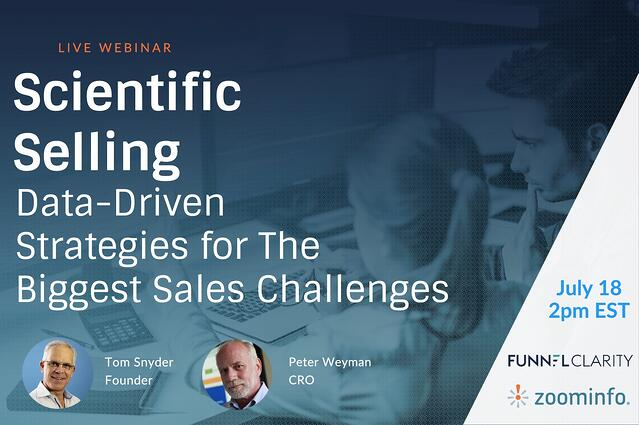 Scientific Selling Cover Slide
