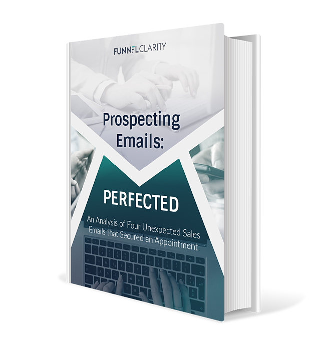 Prospecting Emails Perfected eBook Cover