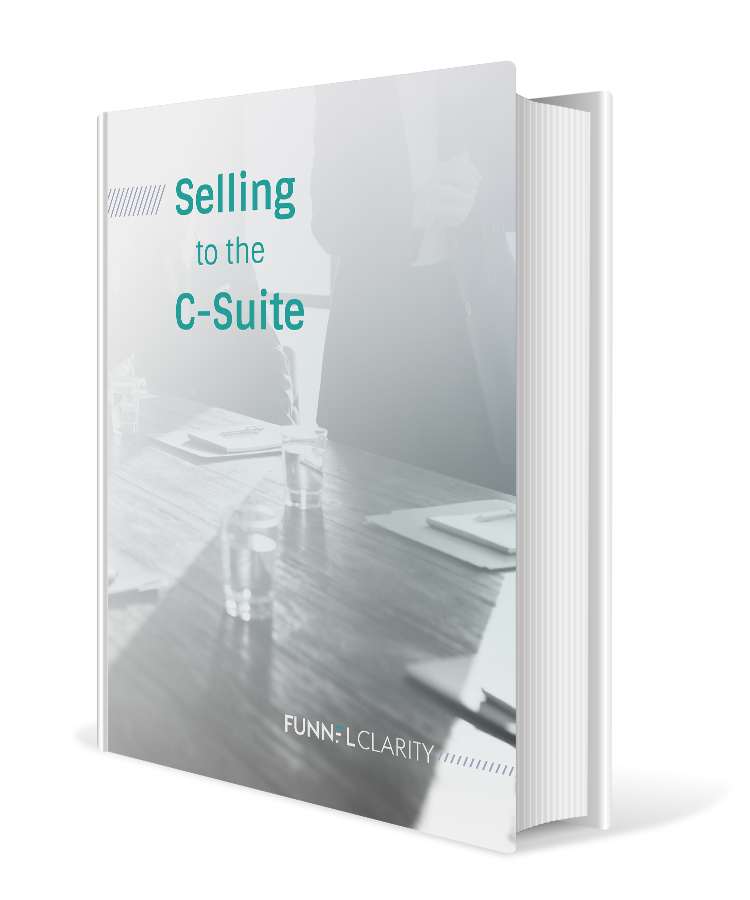 Selling to the C-Suite eBook Cover