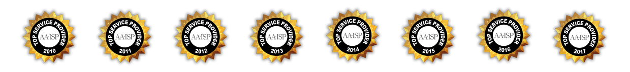 AA-ISP Service Provider of the Year - Sales Training 8-Times
