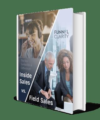 Inside Sales Vs Field Sales eBook